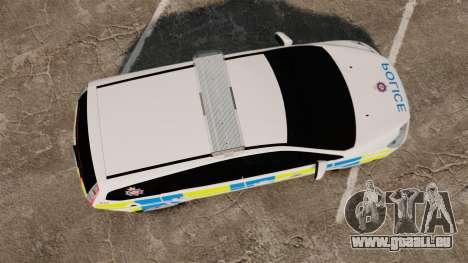 Ford Focus Estate British Police [ELS] für GTA 4 rechte Ansicht