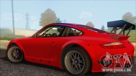Porsche 911 GT3 RSR pour GTA San Andreas laissé vue