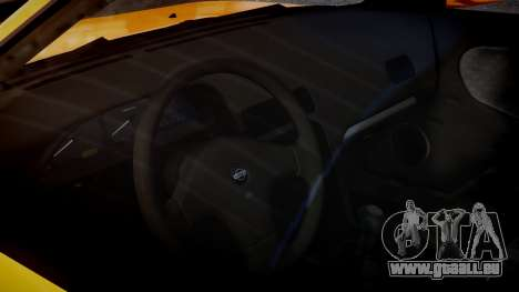 Nissan 240sx Mal de 1992 pour GTA 4 est une vue de l'intérieur