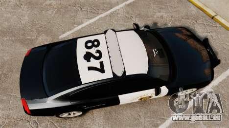 Dodge Charger 2010 LCHP [ELS] für GTA 4 rechte Ansicht