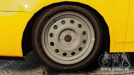 VAZ-Lada 2170 Priora pour GTA 4 Vue arrière
