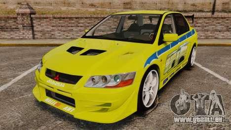 Mitsubishi Lancer Evolution VII 2002 für GTA 4