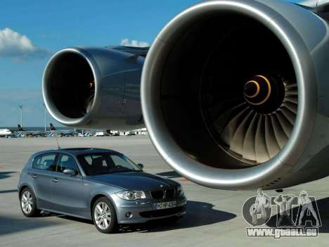 Les écrans de démarrage BMW 120i pour GTA 4 huitième écran
