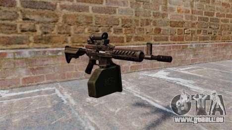 Ares Shrike 5,56 light machine gun pour GTA 4