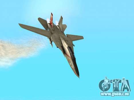 F-14 LQ für GTA San Andreas Seitenansicht