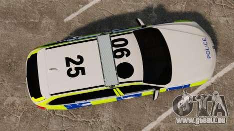 BMW 330d Touring (F31) 2014 Police [ELS] für GTA 4 rechte Ansicht