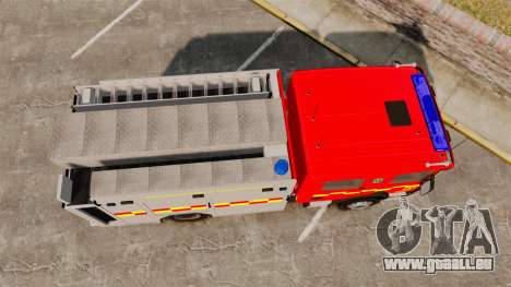 Scania 94D 260 BAS1 Stockholm Fire Brigade [ELS] für GTA 4 rechte Ansicht