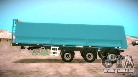 Trailer für Artict2 für GTA San Andreas linke Ansicht