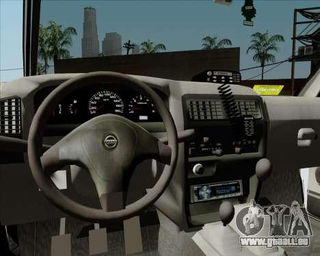 Nissan Terrano pour GTA San Andreas vue de dessous