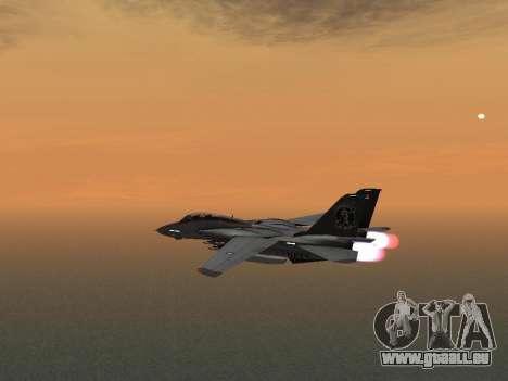 F-14 LQ für GTA San Andreas Rückansicht