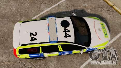 Volvo XC70 2014 Police [ELS] für GTA 4 rechte Ansicht