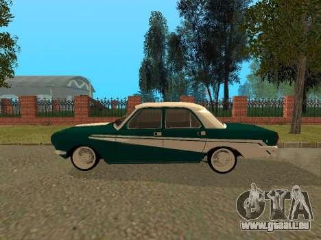 GAZ Volga 24-10 pour GTA San Andreas sur la vue arrière gauche