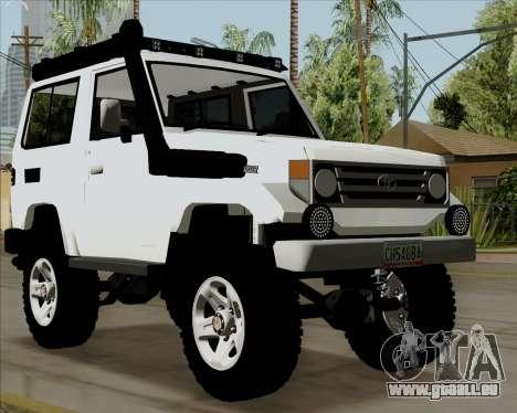 Toyota Land Cruiser Machito 2009 LX für GTA San Andreas