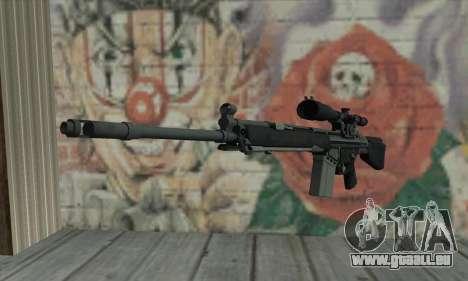 Fusil de sniper de L4D pour GTA San Andreas