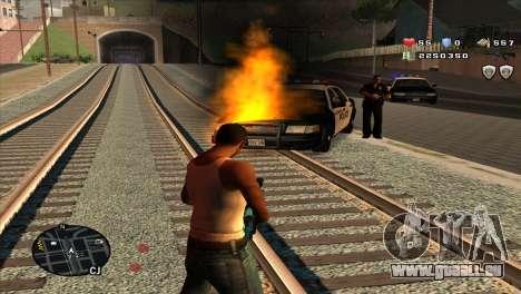 C-Hud by Stan Gomez pour GTA San Andreas troisième écran