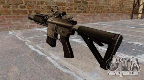 Automatique carabine M4A1 Navy SEAL pour GTA 4 secondes d'écran