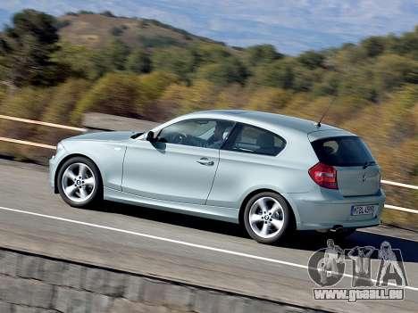 Les écrans de démarrage BMW 116i pour GTA 4 secondes d'écran