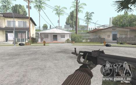 AK-101 pour GTA San Andreas troisième écran