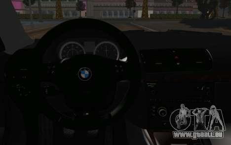 BMW 135i pour GTA San Andreas vue de droite