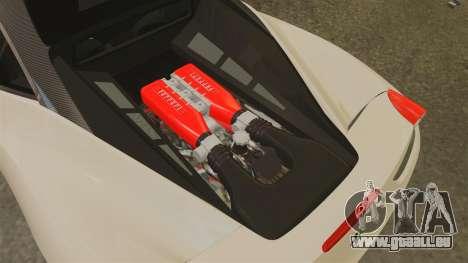 Ferrari 458 Italia 2011 pour GTA 4 est une vue de l'intérieur