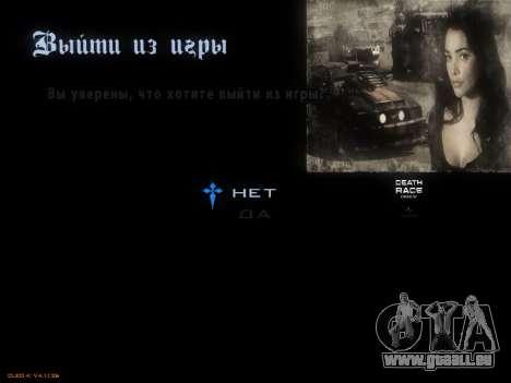 Menu De Course De La Mort pour GTA San Andreas septième écran
