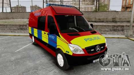 Mercedes-Benz Sprinter 313 CDI Police [ELS] pour GTA 4