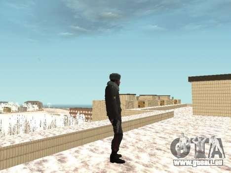 Pack de russe des armes légères pour GTA San Andreas cinquième écran