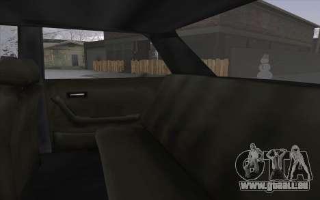 VC Admiral pour GTA San Andreas vue intérieure