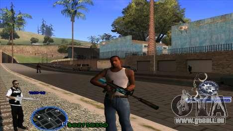 C-HUD Police pour GTA San Andreas
