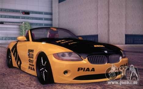 BMW Z4 V10 Stanced pour GTA San Andreas laissé vue