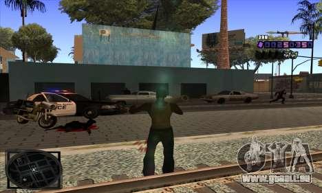 C-HUD Belenky für GTA San Andreas her Screenshot