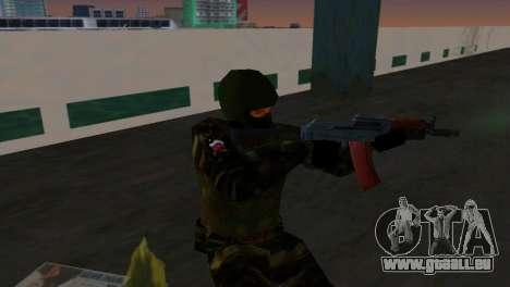 Kämpfer Alfa Antiterror für GTA Vice City zweiten Screenshot
