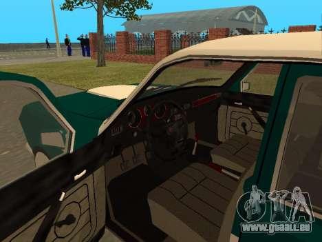 GAZ Wolga 24-10 für GTA San Andreas Rückansicht