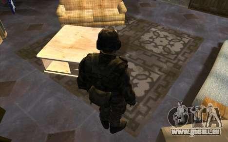 Les soldats de la SA et le Mississippi de la gar pour GTA San Andreas deuxième écran