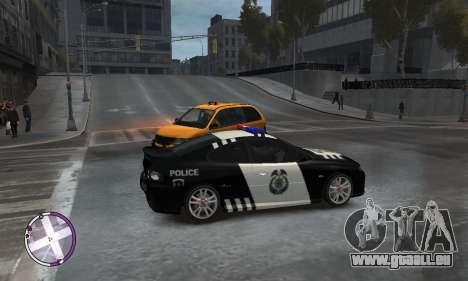 Holden Monaro CV8-R Police für GTA 4 rechte Ansicht