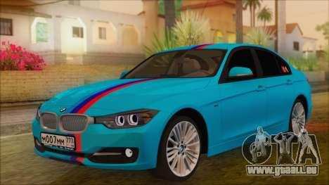 BMW 328d 2014 für GTA San Andreas