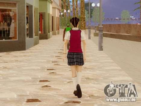 Hanako pour GTA San Andreas sixième écran