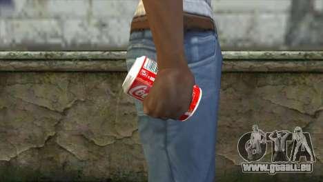 Explosive Coca Cola Dose pour GTA San Andreas troisième écran