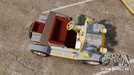 Ford Model T 1910 für GTA 4 rechte Ansicht