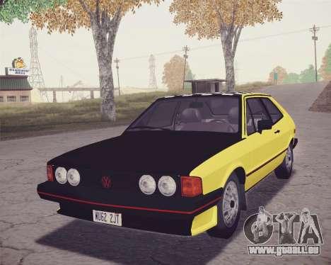 Volkswagen Scirocco S (Typ 53) 1981 HQLM für GTA San Andreas Seitenansicht