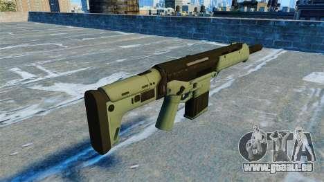Sturmgewehr Grendel v2. 0 für GTA 4 Sekunden Bildschirm