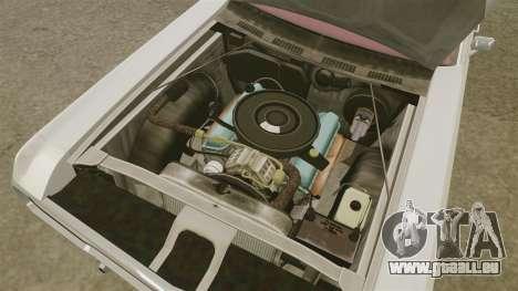 Dodge Polara 1971 für GTA 4 Innenansicht