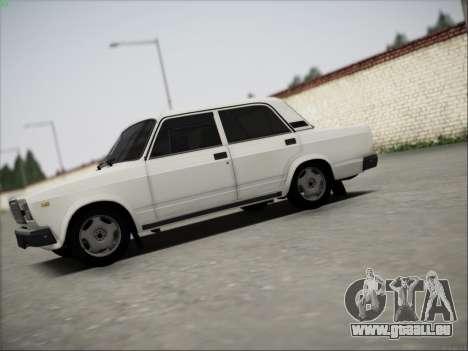 ВАЗ 21074 für GTA San Andreas Innenansicht