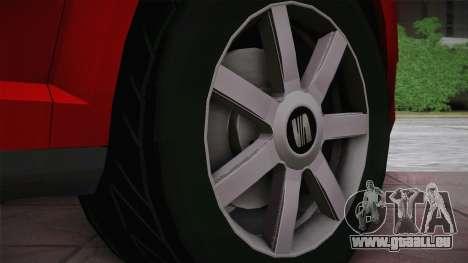Seat Toledo 1.9TDi 2006 für GTA San Andreas Rückansicht