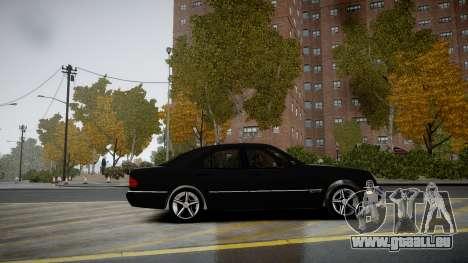 Mercedes-Benz E280 Beta für GTA 4 linke Ansicht
