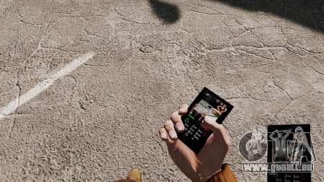 Thème de cent 50 pour votre téléphone pour GTA 4