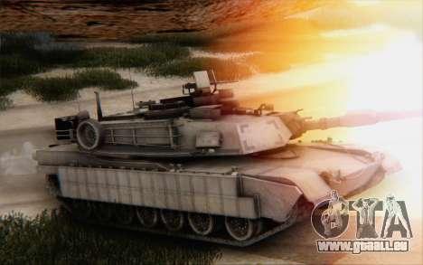 M1A2 Abrams pour GTA San Andreas vue arrière