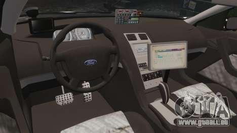 Ford BF Falcon XR6 Turbo LCHP [ELS] für GTA 4 Rückansicht