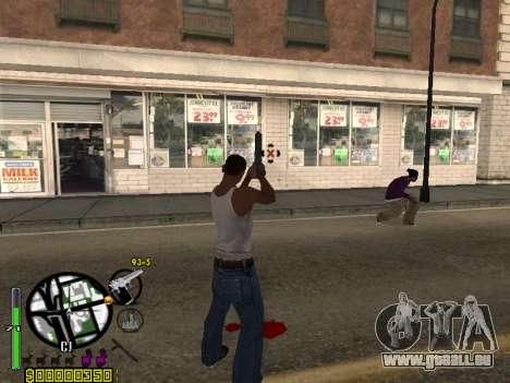 C-HUD by Leytenant pour GTA San Andreas deuxième écran