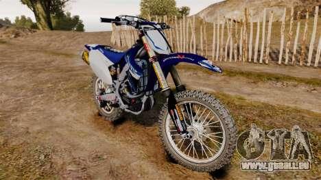 Kawasaki KX250F (Yamaha) pour GTA 4